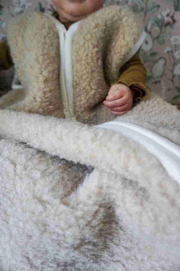 slaapzak van wol